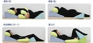 推奨仰臥床姿勢